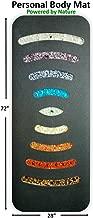 Personal Portable Pain Relief Far Infrared Natural Healing Crystal Meditation Yoga Chakra Mat (72