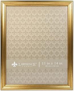 Lawrence Frames 11x14 Sutter Burnished Gold Picture Frame
