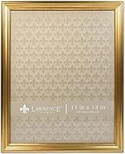 إطارات لورانس 536211 11x14 إطار صورة ذهبي لامع