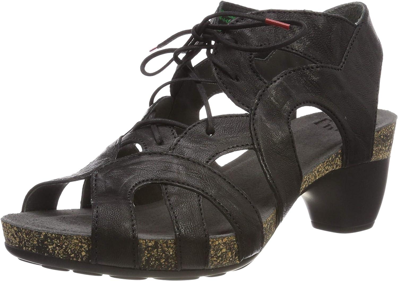 Think Women Sandals Traudi Black, (black) 4-84576-00