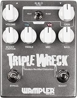 Wampler Triple Wreck V2 Modern Rectified Distortion Guitar Effects Pedal