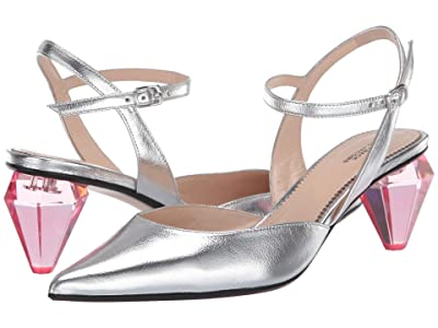 Marc Jacobs The Slingback (Silver) Women