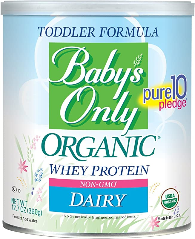 Baby S Only Toddler Formula Dairy With Whey Protein 12 7 Ounce Pack Of 6