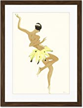 Doppelganger33 LTD Painting Portrait Dancer Josephine Baker Creole Large Art Print Poster Wall Decor 18x24 inch Supplied Ready to Hang with Included Mount Brackets