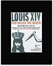 NME Louis XIV - God Killed The Queen Mini Poster - 13.5x10cm