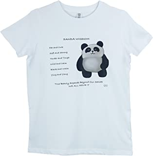 Peeps Of The Universe Boys Panda Wisdom, Mindfulness T Shirt