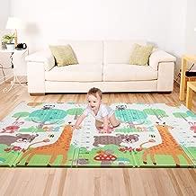 Bammax Play Mat, Folding Mat Baby Crawling Mat Kids Playmat Waterproof Non Toxic for Babies, Infants, Toddlers