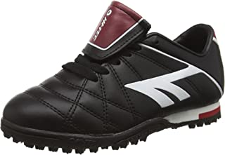 LEAGUE PRO ASTRO Junior Kids Football Boots Black/White/Red