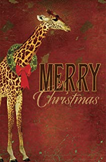Tree-Free Greetings EcoNotes 12-Count Christmas Card Set with Envelopes, 4