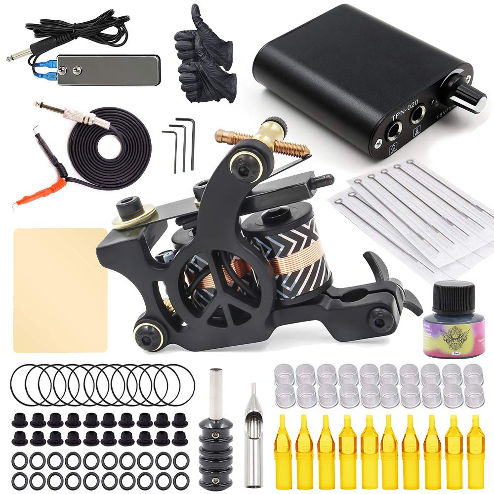 Jconly Selling rankings Complete Tattoo Kit Machine Cheap sale Guns Tatto Coil
