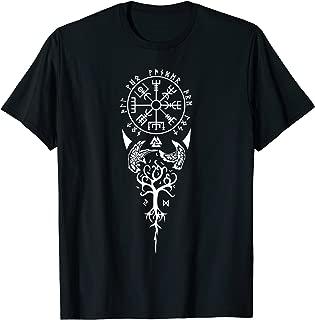 Vegvisir Runes Viking compass Nordic symbol