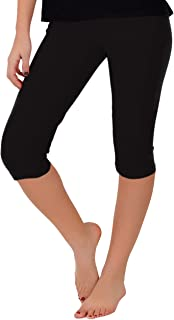 Women's and Girl's Circuit Knee-Length Leggings | Stretchy Leggings | Cotton Spandex | XS Child - 5X Adult