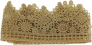 IPOTCH Vintage Spitze Trimmen Hochzeit Zierrand Spitzenbesatz zum Dekoration Kleidung von Yard