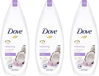 Dove Purely Pampering Coconut Milk with Jasmine Petals Body Wash 500ML (3 pack) Design may vary