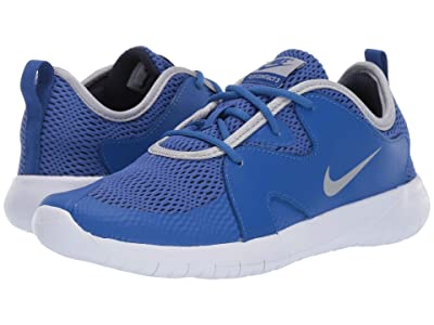 Nike Kids Flex Contact 3 (Big Kid) (Midnight Navy/Volt/Blue Hero) Kids Shoes