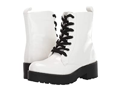 Dirty Laundry Mazzy (White Patent) Women