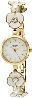 KATE SPADE Women's KSW1420 Year-Round Analog-Digital Quartz Gold Band Watch