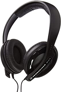 Sennheiser – Auriculares de diadema cerrados (control remoto integrado, SD, color negro)