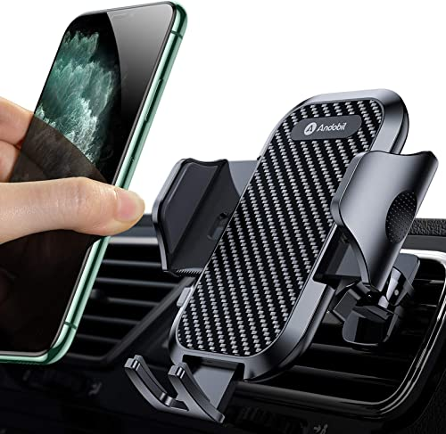 new arrival andobil 2021 Car Phone Mount Ultimate Smartphone Car Air wholesale Vent Holder Easy Clamp Cradle Hands-Free Compatible with iPhone 12/12 Pro/11 Pro Max/8 Plus/8/X/XR/XS/SE Samsung Galaxy S20/S20+/S10/S9/Note 20/10 online