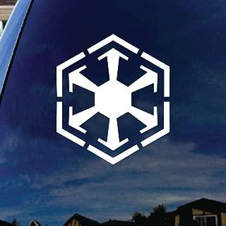 Old Republic Sith Empire Symbol Car Window Vinyl Decal Sticker 5