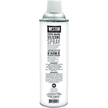 Weston Food Grade Silicone Non-Stick Spray for Lubrication and Storage, 13.5 oz Can (03-0101-W),