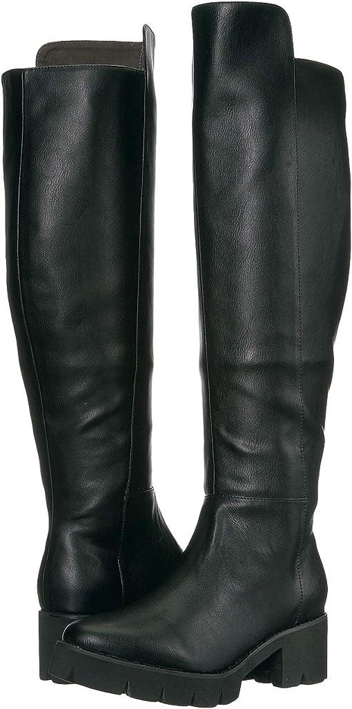 Black V-Leather