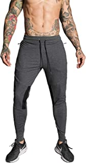 FIRSTGYM شلوار جین مردانه Joggers Slim Fit Athletic Workout Pants