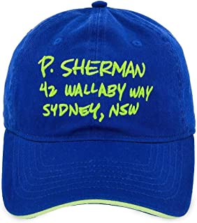 Disney Finding Nemo 42 Wallaby Way Baseball Cap Hat for Adults Blue