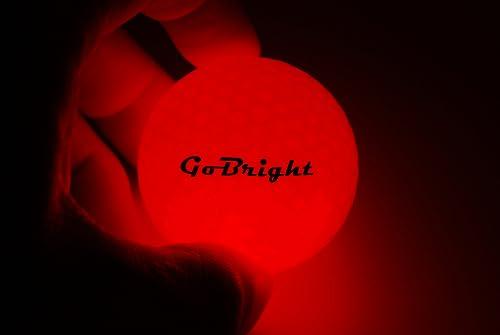 GoBright LED Light Up Golf Balls
