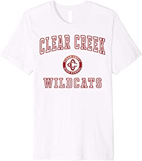 Clear Creek High School Wildcats Premium T-Shirt C1