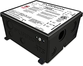 Furrion 50 Amp Automatic Transfer Switch for RV to changeover input between 125/250Volt AC power sources. With Vibrationsmart & Climatesmart Technology- F50-ATS