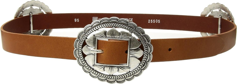 Amsterdam Heritage Leather Belt 25505 Boho Vintage Cognac belt