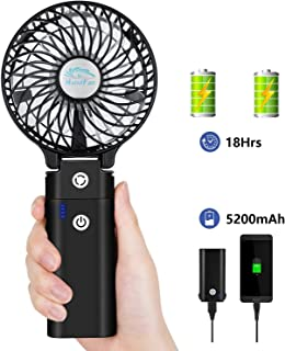 XiongBuy Portable Fan Mini USB Fan Mini Handheld Fan Portable Handheld Fan USB Charging Fan