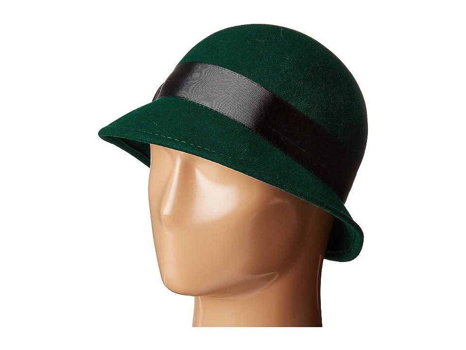 Women's Vintage Hats | Old Fashioned Hats | Retro Hats Betmar Emma Emerald Caps $50.00 AT vintagedancer.com