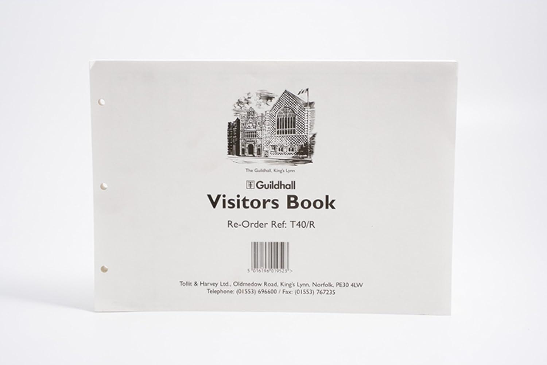 激安格安割引情報満載 Exacompta Guildhall Loose-Leaf Visitors Sheets Book お得なキャンペーンを実施中 210 Refill