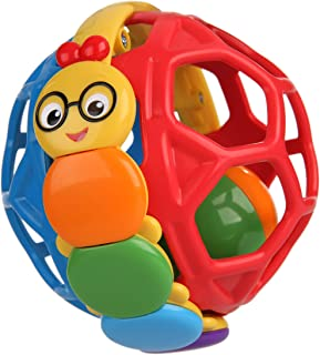 Baby Einstein Bendy Ball Rattle Toy, Ages 3 months +