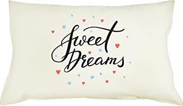 TotMart Cute Pattern Pillow Covers Decorative Pillowcase with Hypoallergenic Pillow Standard 19 X 12.5 for KIDS (sweet dreams)