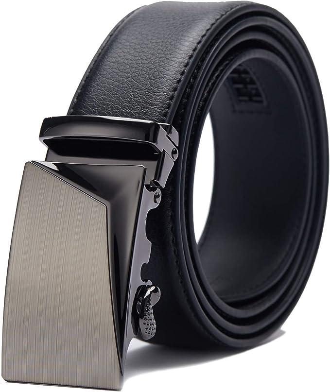 3276 opinioni per TANGCHAO Cintura Uomo, Cintura a Cricchetto da Uomo in Pelle con Fibbia