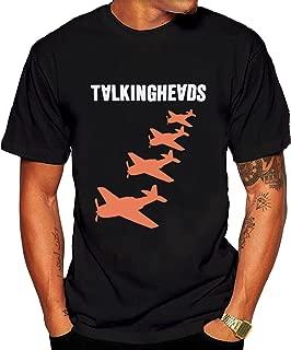 Men's Talking Heads Planes Vintage Tee shirt Black