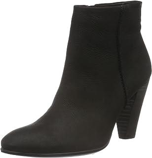 ecco 75 Heels Boots For Women- Black