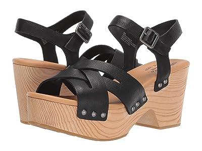 Kork-Ease Wausau (Black Full Grain Leather) Women