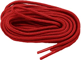 2 Pair Pack proBOOT Heavy Duty Round 1/8 inch thick Rugged Wear Boot Laces Long Lasting Shoelaces