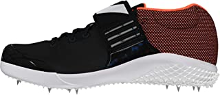 adidas Men's Adizero Javelin Track & Field Shoes, Black (Cblack/Zeromt/Orange Cblack/Zeromt/Orange), 5 UK