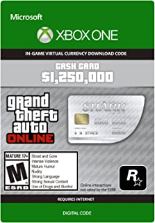 Grand Theft Auto V: Great White Shark Cash Card - Xbox One [Digital Code]