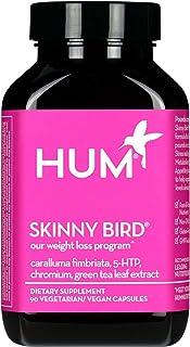 HUM Skinny Bird - Weight Management Support Supplement - Green Tea Extract, 5-HTP, Chromium & Caralluma Fimbriata Boost Me...