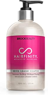 Hairfinity Gentle Cleanse Biotin Shampoo - Silicone & Sulfate Free Growth Formula - Best for Damaged, Dry, Curly or Frizzy...