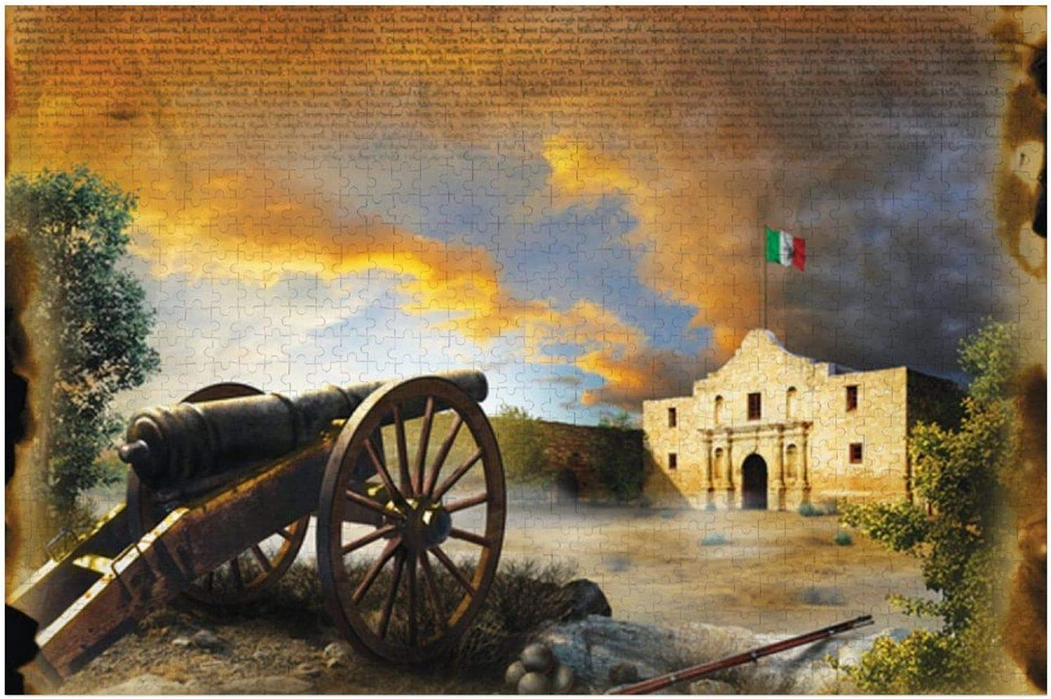 1000 Piece Wooden OFFer Ranking TOP20 Jigsaw Puzzle Large Remember The Alamo