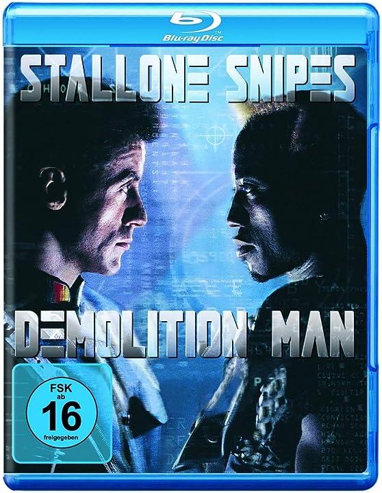 Film blu ray o dvd  - demolition man - sylvester stallone , wesley snipes  warner bros (universal pictures) 1000160943