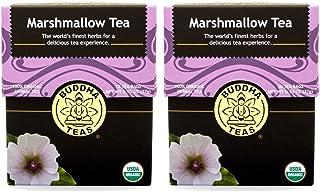Marshmallow Tea - Organic Herbs (2 Pack) - 36 Individual Bleach Free Herbal Tea Bags