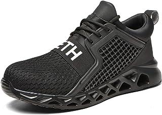 R-Win Chaussures de sécurité légères et respirantes avec embout en acier pour homme